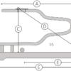 Zwevende box HAS120 schematisch