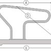 R-box voor grootvee schematisch