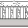 Hollands klepel veiligheidsvoerhek schematisch